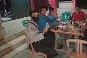 Anggota Piket Polsek Kuala Behe Beri Himbauan Secara Humanis