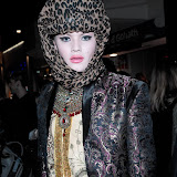 WWW.ENTSIMAGES.COM -  Guest    at      Eleven Paris - store launch party Boy George, DJs as cult French fashion label hosts party to celebrate the opening of its debut London store, in the year of its 10th anniversary at Eleven Paris, 46 Carnaby Street, London, April 25th 2013                                                    Photo Mobis Photos/OIC 0203 174 1069