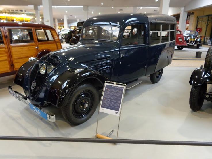 Musée de l'aventure Peugeot à Sochaux DSC01265