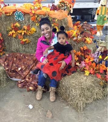 Halloween Fun The Daily April N Ava Atlanta Georgia lady bug costume