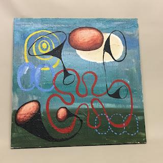 M. Randall Trumpet Painting