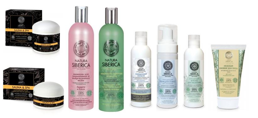 Mỹ phẩm NGA -mỹ phẩm chiết xuất từ thiên nhiên và hữu cơ Natura Siberica