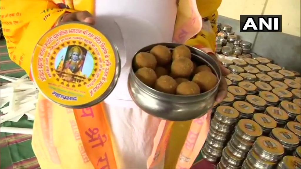 ram mandir bhumi pujan 111000 laddoos will be prepared in ayodhya Kpp