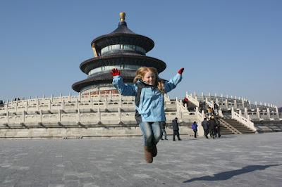 Jumping, China
