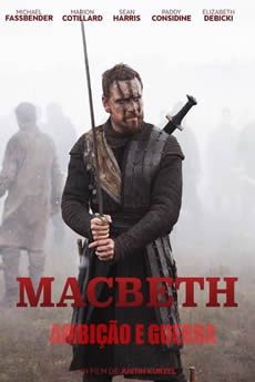 Capa Macbeth: Ambição e Guerra (2015) Dublado Torrent
