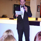 WWW.ENTSIMAGES.COM -  George Gilbey presenting an award at    at         Wear it for Autism - charity catwalk show at Millennium Hotel London Knightsbridge, London October 6th 2014Charity fashion show to celebrate families and individuals affected by autism.                                               Photo Mobis Photos/OIC 0203 174 1069