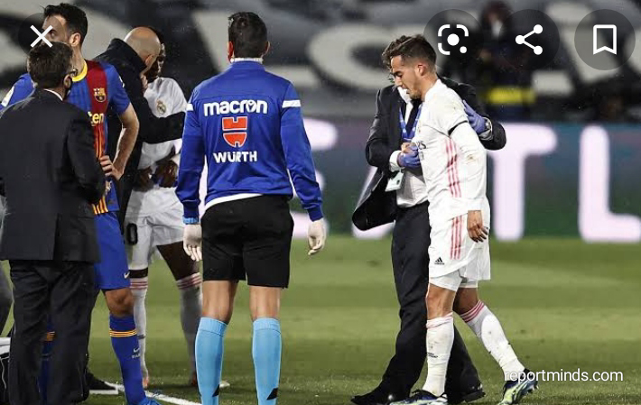 Real Madrid's Lucas Vazquez Season Has Come To An End Prematurely Following A Serious Injury Sustained Against Barcelona