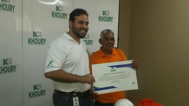 Khoury Industrial apoya el desarrollo económico de Cabral