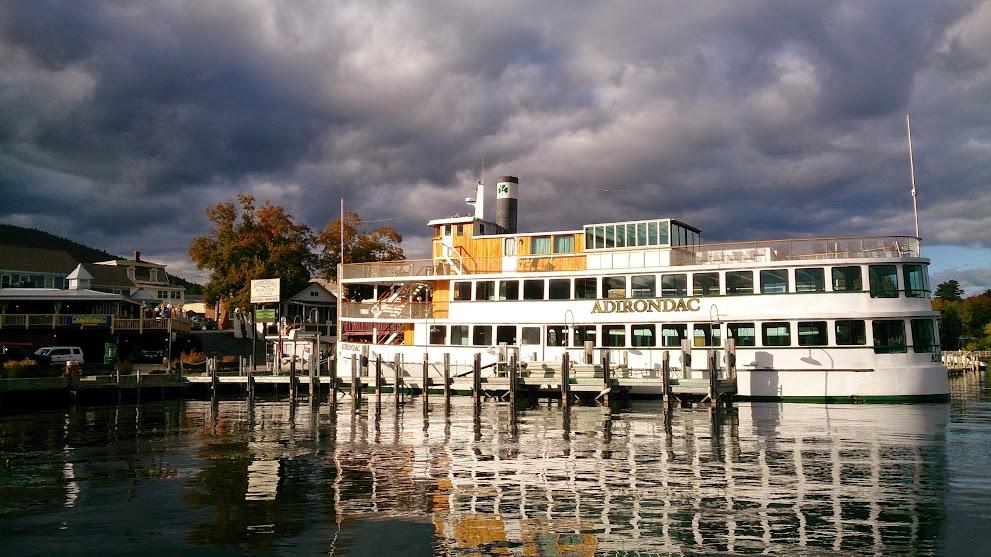 湖上每一艘大船都是古董喲