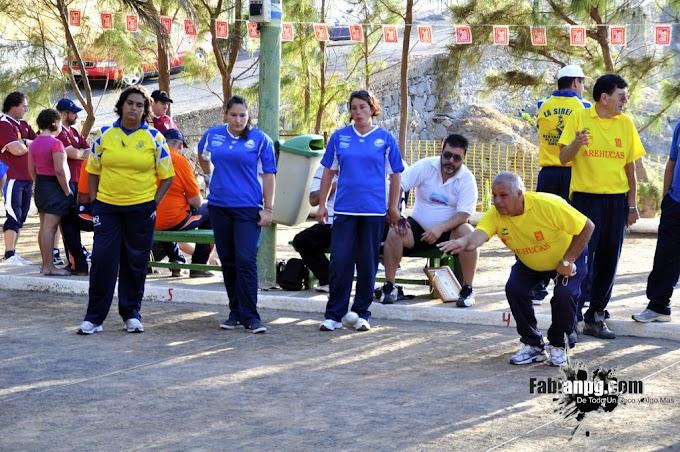 Semifinal del Campeonato Insular de Petanca