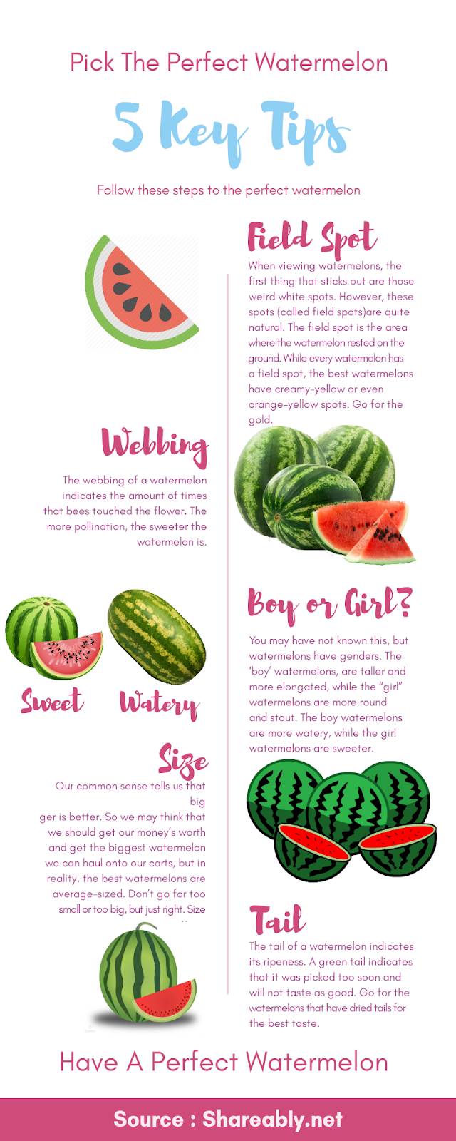 how to get perfect watermelon