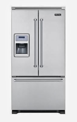 Viking Professional Vcff136dss 36 19 8 Cu Ft Counter Depth French Door Refrigerator Stainless Steel