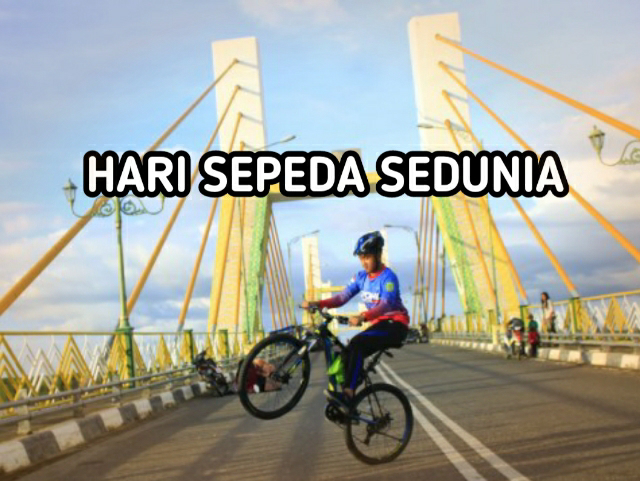 03 Juni, Perayaan Hari Sepeda Sedunia