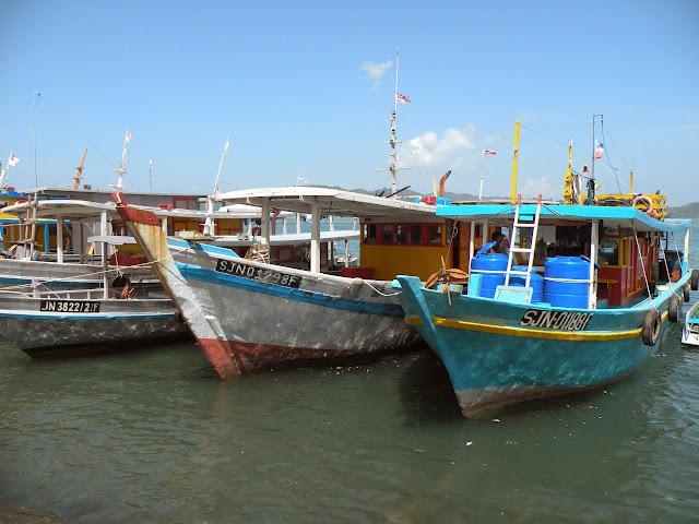 Ships harbour Kota Kinabalu