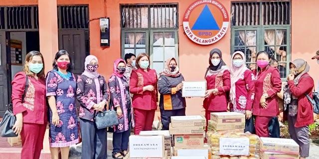 Forgawara Palangka Raya Salurkan Bantuan Korban Banjir Kalsel