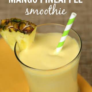 Mango Pineapple Smoothie.