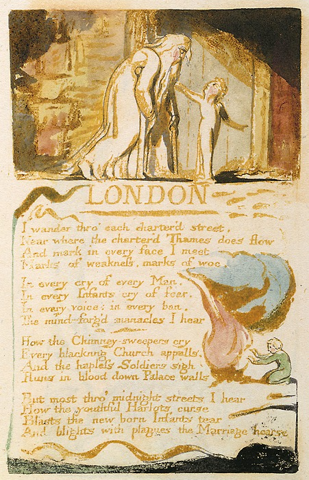 London Poem By William Blake, William Blake