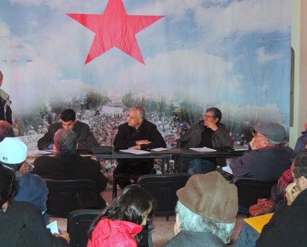 المجلس الجهوي بالدار البيضاء للنهج الديمقراطي يطالب بإطلاق سراح رفيقنا أحمد بوعادي  وكافة المعتقلين السياسيين