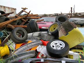 Abandoned Ferrari 412