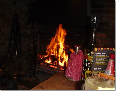 1 roaring fire in the folly