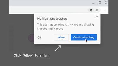 كيفية حظر رسائل طلب تفعيل الإشعارات في متصفح كروم حتى لا تزعجك مرة أخرى