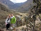 Joshua & Vasilisa On Laguna 69 Trek (Cordilleras Mountains, Peru)