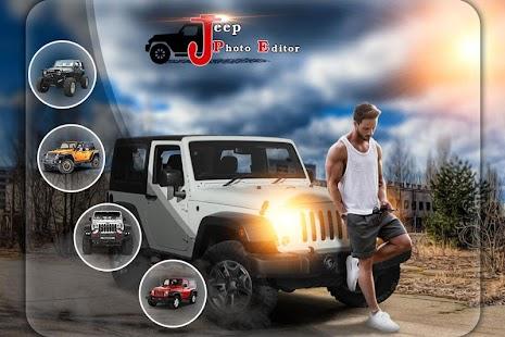 Stylish Jeep Photo Editor - náhled