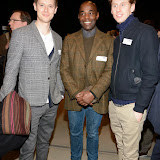 OIC - ENTSIMAGES.COM - Samuel Barnett, Paterson Joseph and Robert Emms at the   LAMDA West London campus launch London 12th February 2015