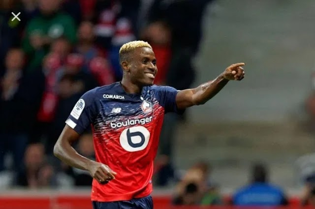 Oshimen,Simon Shortlisted For African Best Player In Ligue 1