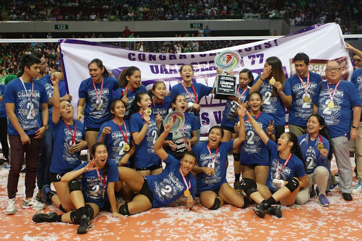 ateneo lady eagles wins back to back uaap titles video