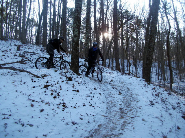Switchback on the Berryman Trail
