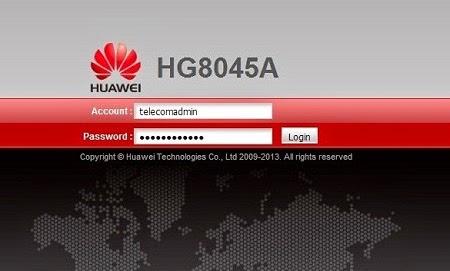 Hướng dẫn cấu hình Modem GPON Huawei HG8045A