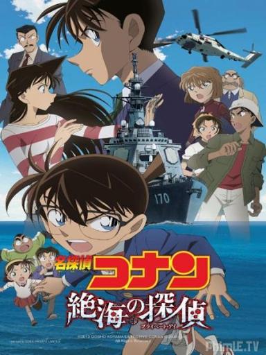 Phim Thám Tử Conan Movie 17: Thám Tử Trên Biển Xa HTV3 Lồng Tiếng - Detective Conan Movie 17: Private Eye In The Distant Sea - Lồng tiếng