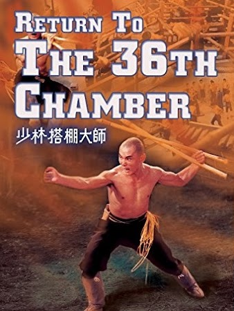 Poster Of Return to the 36th Chamber 1980 In Hindi Bluray 720P Free Download