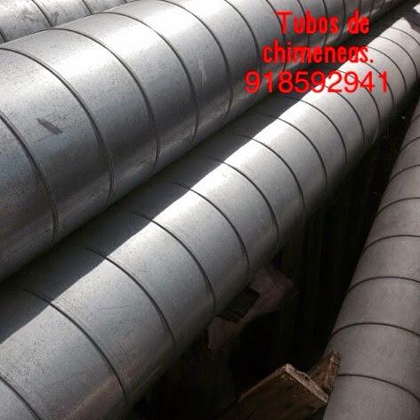 Chimeneas picos de europa tubos helicoidales para - Tubo de chimenea ...