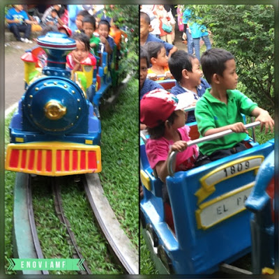 Kereta Thomas di Taman Topi