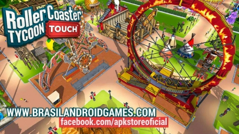 RollerCoaster Tycoon Touch APK MOD DINHEIRO INFINITO OBB Data