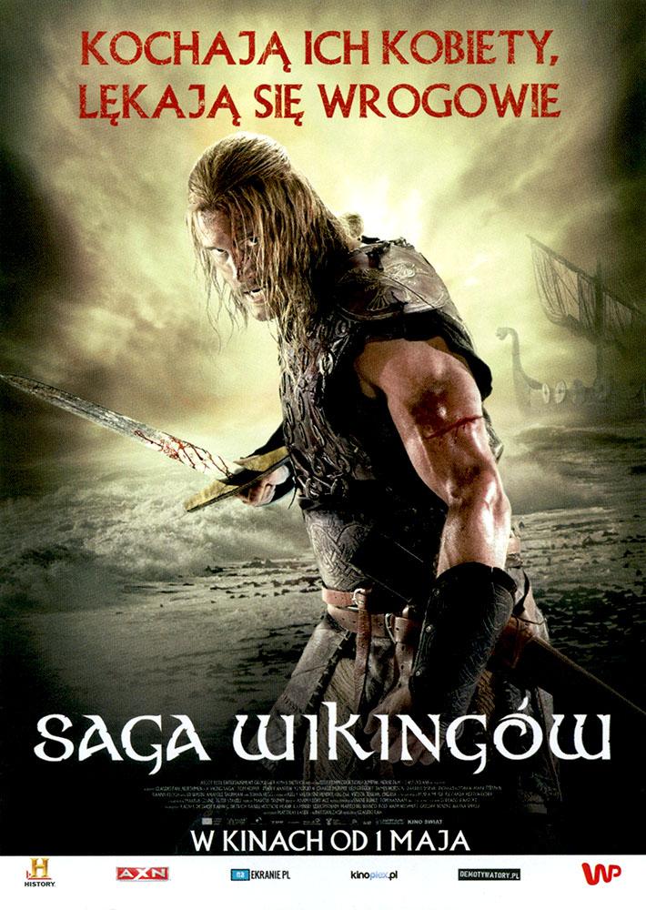Ulotka filmu 'Saga Wikingów (przód)'