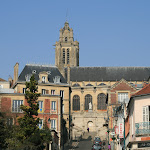 Rue Thier : cathédrale Saint-Maclou