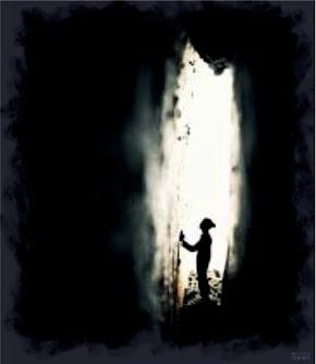 Homem na caverna