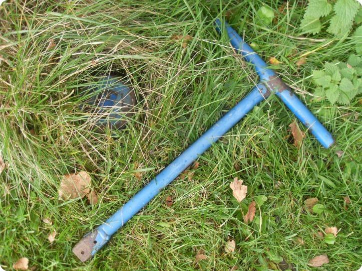 Vi fandt vandlåsen - min onkels sommerhus, for længe, længe siden...