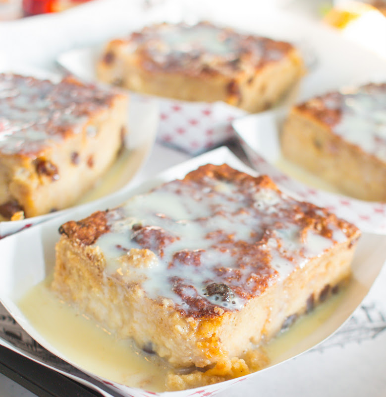 photo of Homemade Bread Pudding with Rum Sauce