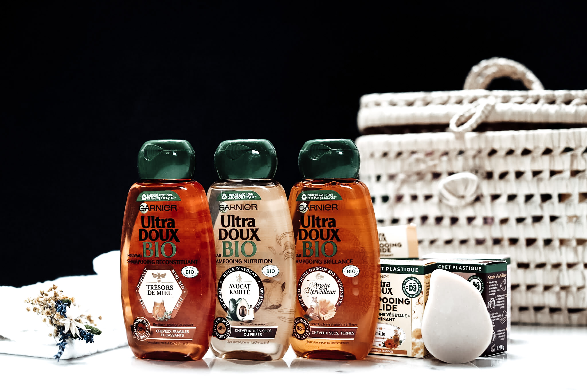 Garnier Ultra Doux Shampoong Bio