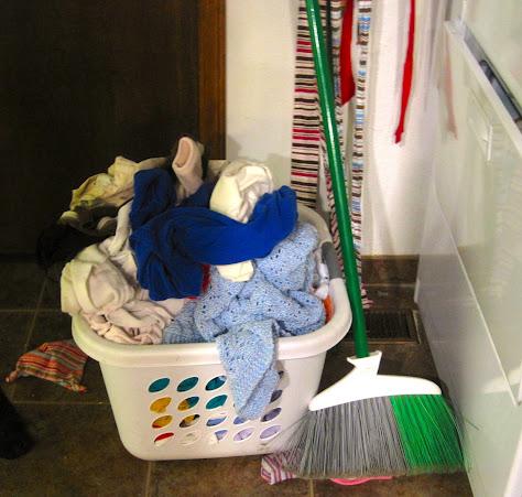 hidden art of homemaking laundry basket