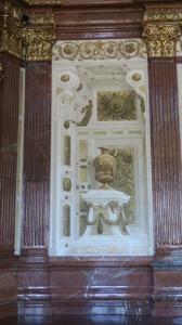 Marble Hall Half Wall