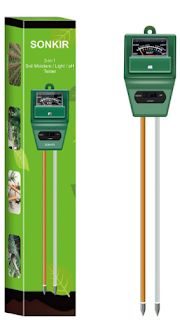 Soil pH testing kit, Sonkir Soil pH meter, pH meter
