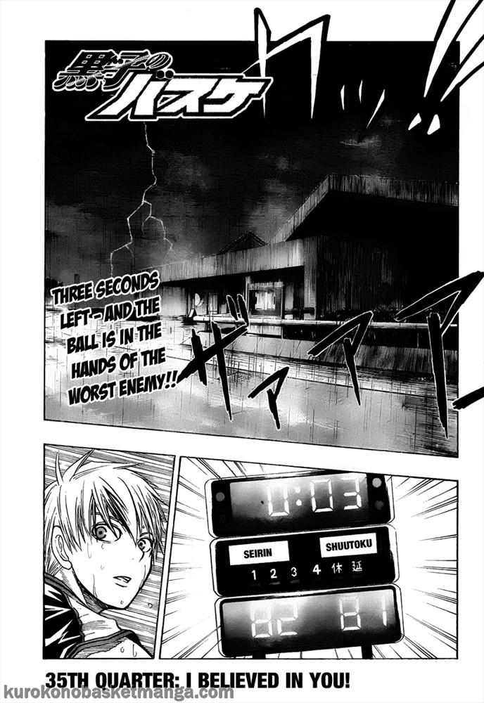Kuroko no Basket Manga Chapter 35 - Image 01