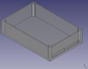ケースの3Dモデル