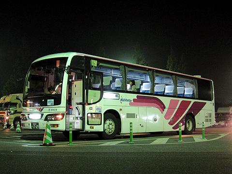 西日本鉄道「桜島号」 9909 宮原SAにて