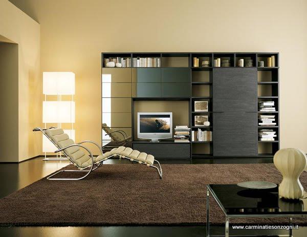 arredamenti moderni per cucine, zona giorno e notte -carminati e ... - Mobili Moderni Per Zona Giorno
